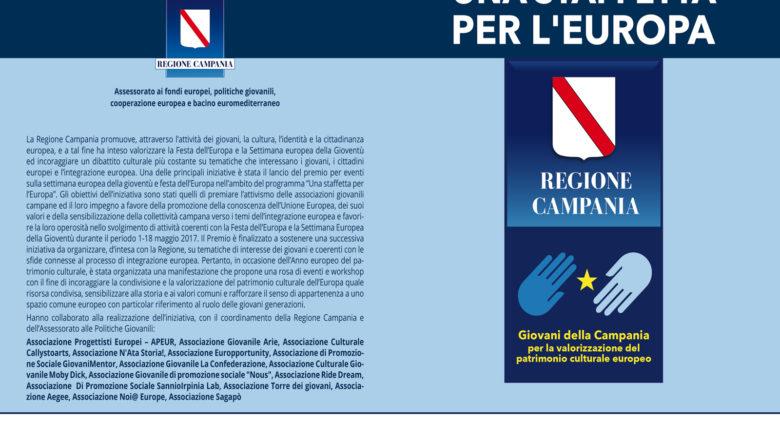 Una staffetta per l'Europa, Benevento 11 Maggio
